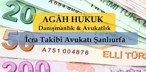 İcra Takibi Avukatı Şanlıurfa | AGÂH Hukuk | İCRA ve İFLAS HUKUKU